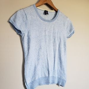 Gap cotton and Cashmere mix short sleeves sweater